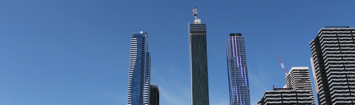 Victoria One tower climbs into Melbourne's CBD Skyline