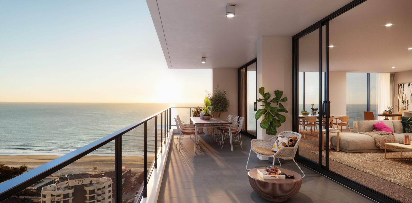 5 apartments for the professional couple in Queensland's Broadbeach