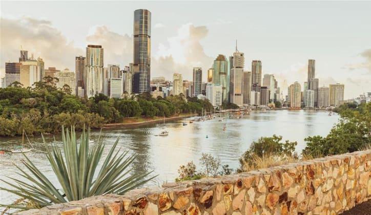 Stunning, spacious apartments at Kangaroo Point from $410,000