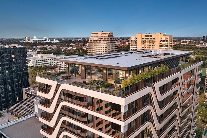 New Charsfield, St Kilda Road sky garden penthouse listed with $11 million hopes