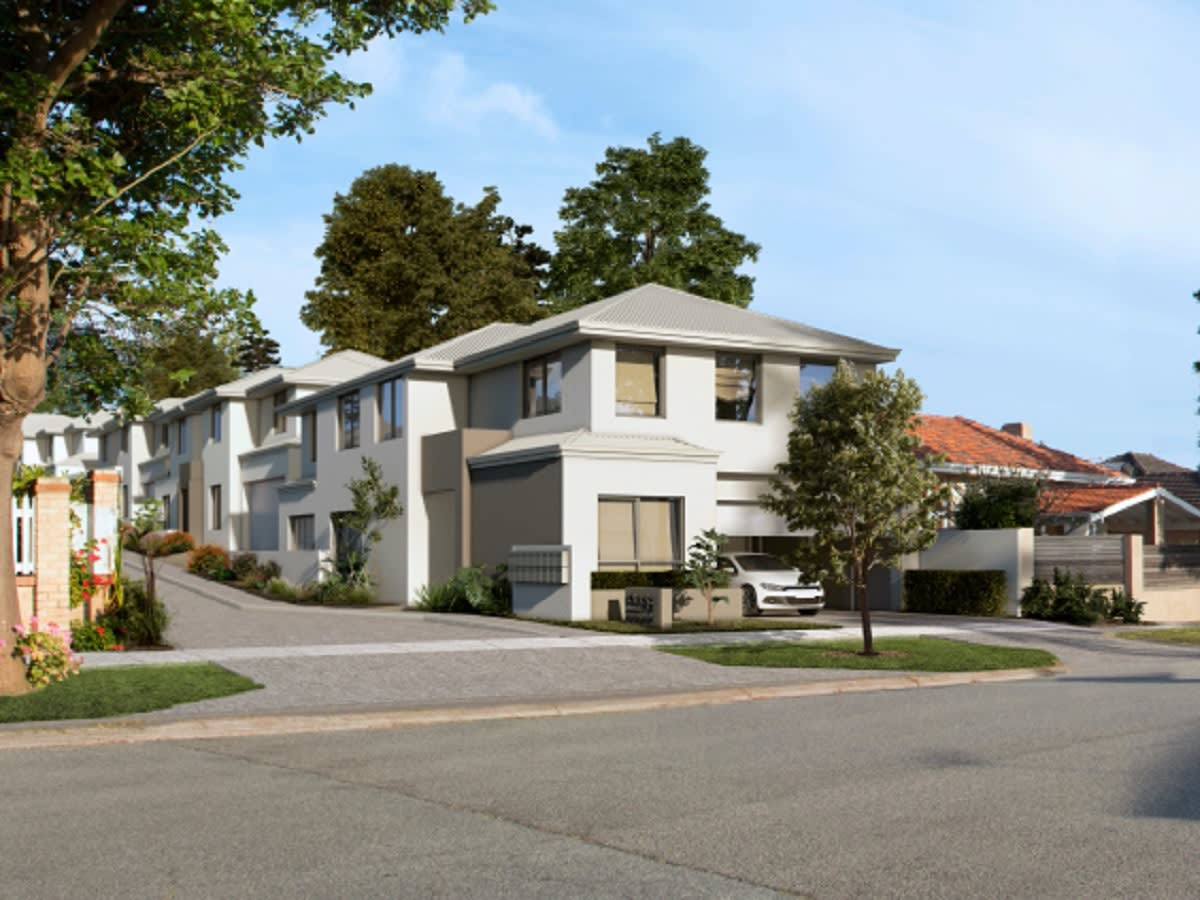 One54 Tuart delivers highly sought-after townhomes in Tuart Hill.