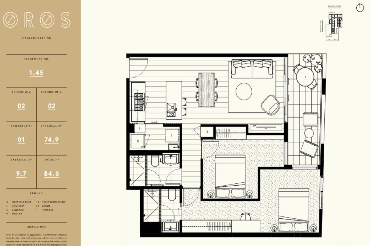 Oros floor plans