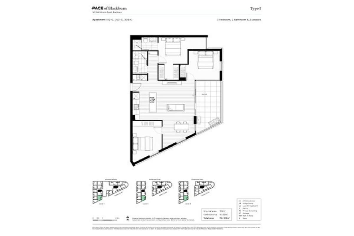 Pace of Blackburn, Melbourne floor plans