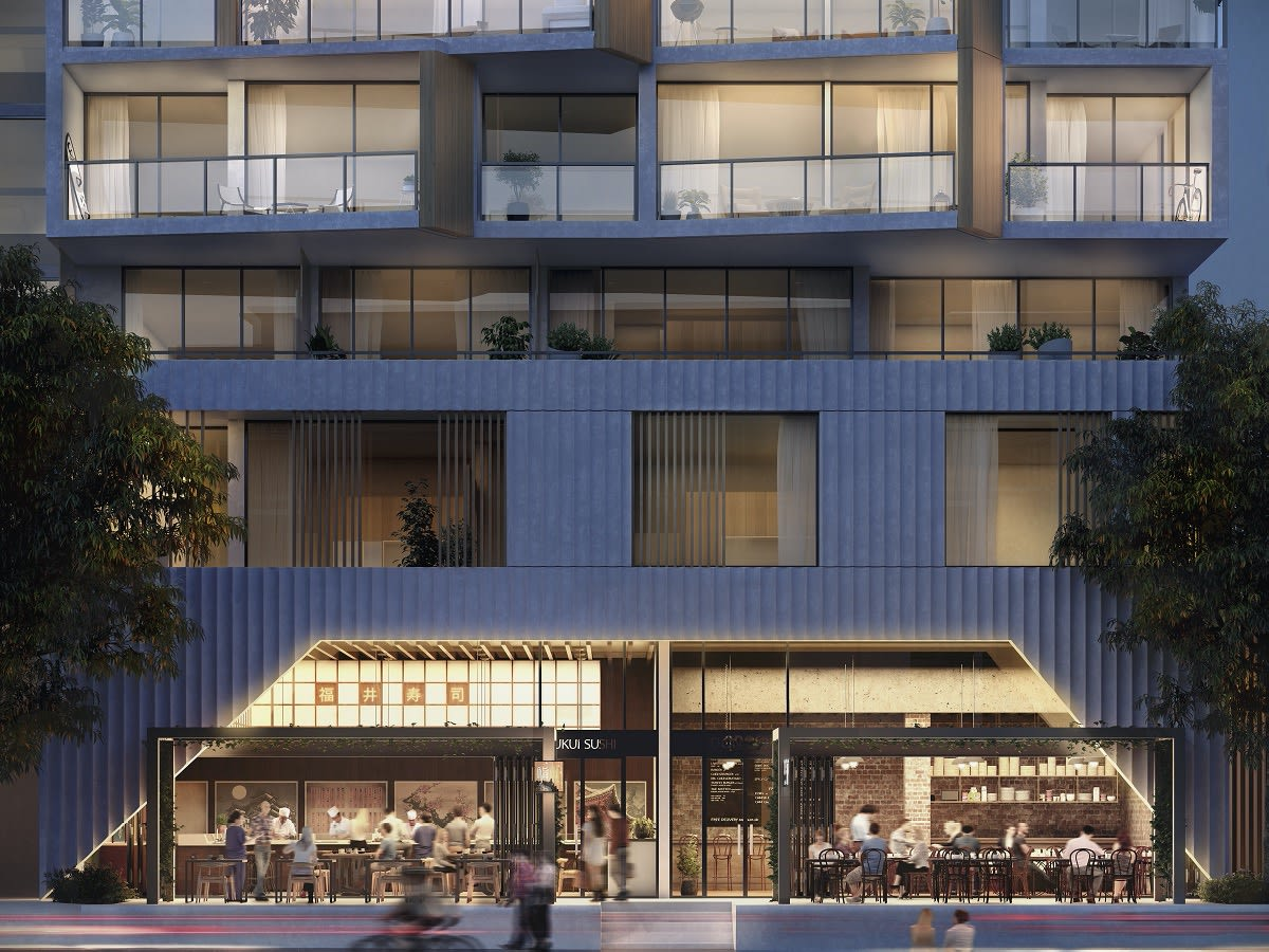 A transformational urban renewal project in the heart of Erskineville - Park Sydney.