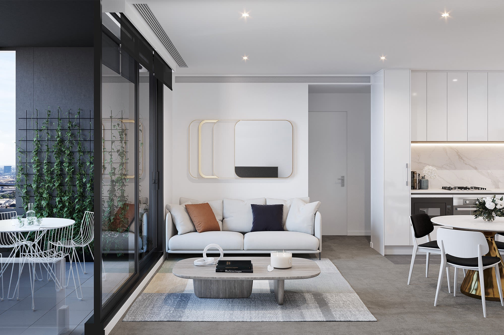 Next-generation apartments at Central Equity's Parkhill Apartments in West Melbourne