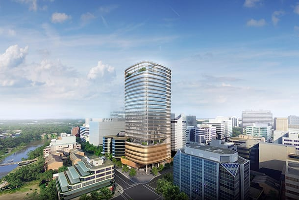32 Smith Street's construction continues the rise of Parramatta
