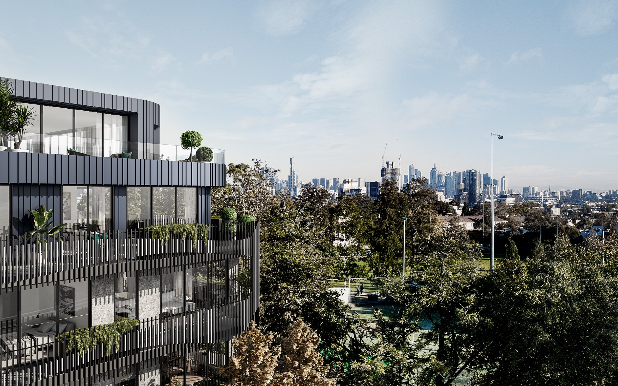 Armadale residence guarantees buyers a lifetime of parkland vistas