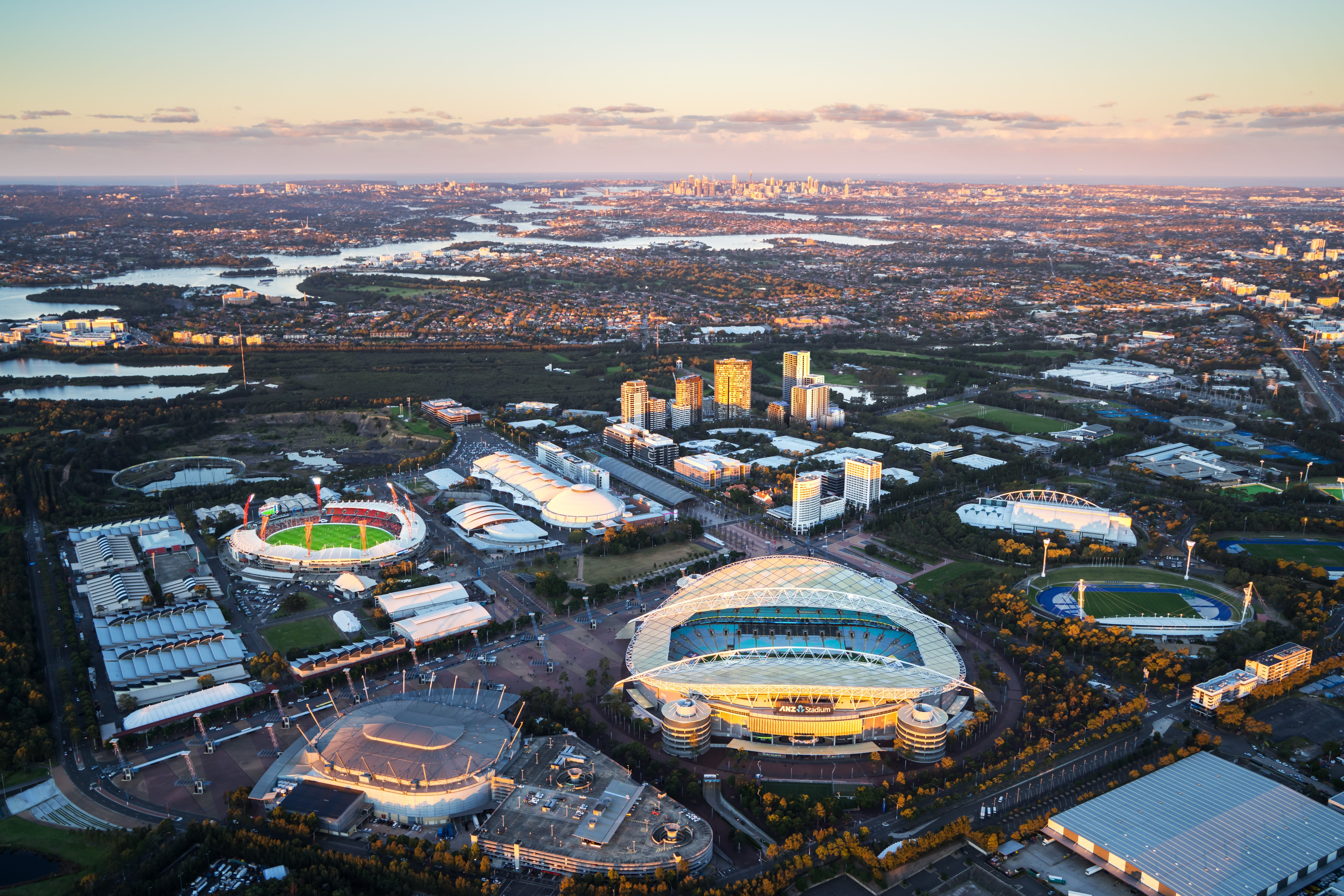 Change is coming to Sydney Olympic Park: Discover Mirvac's Pavilions