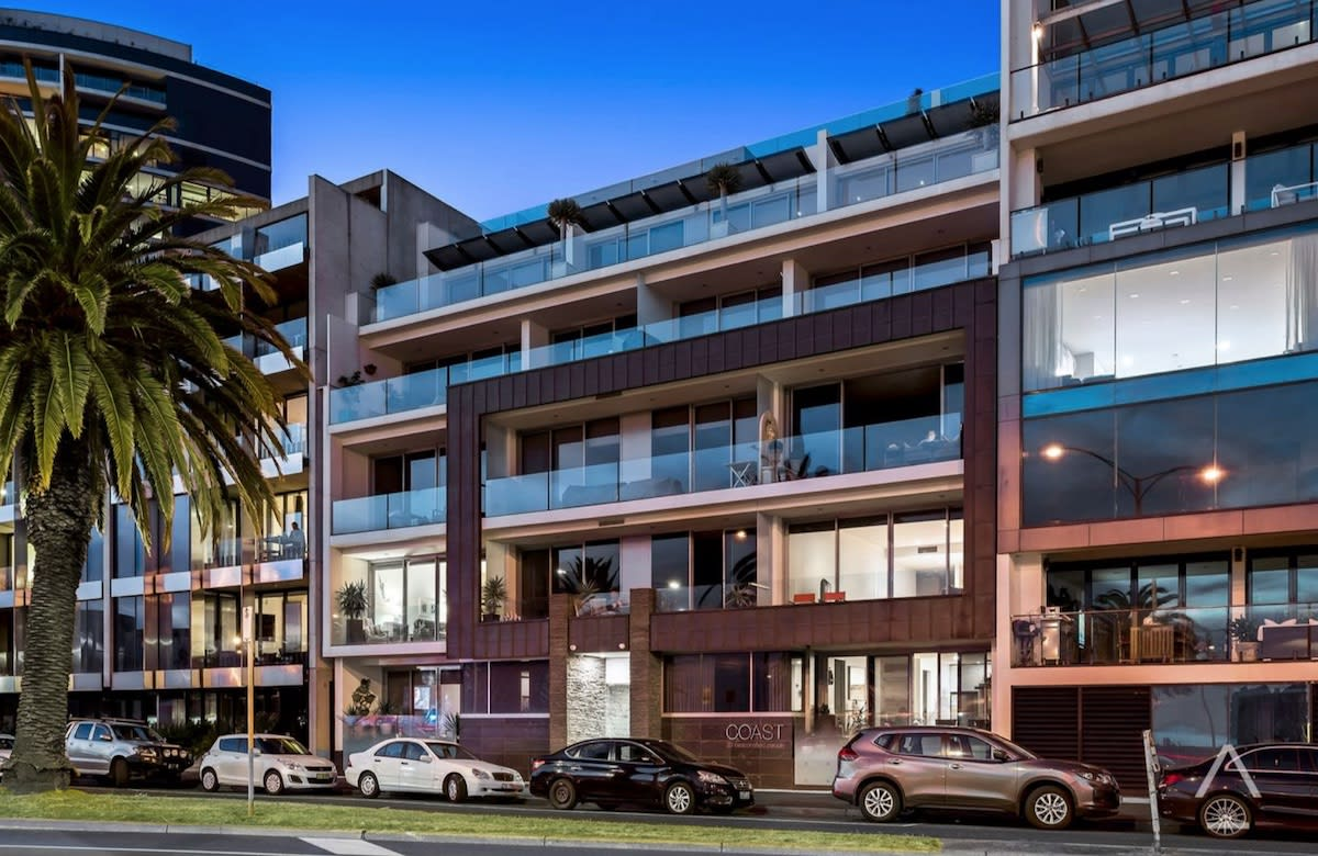 SJB designed Coast, Beaconsfield Parade, Port Melbourne sells for $1.85 million