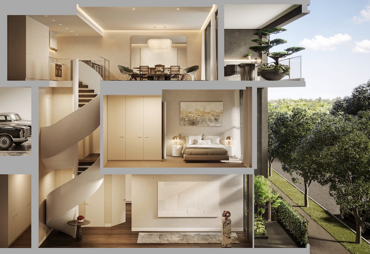 R.Iconic release limited townhouse collection at South Melbourne project