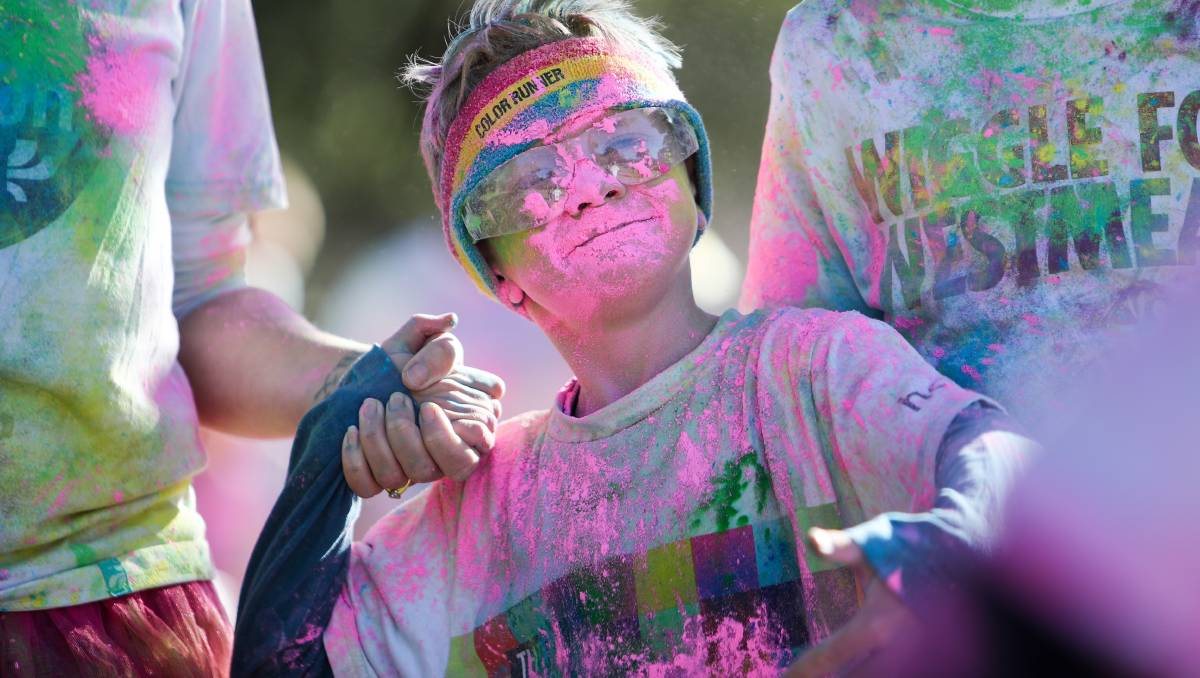 All the photos from Wollongong Colour Frenzy at Stuart Park