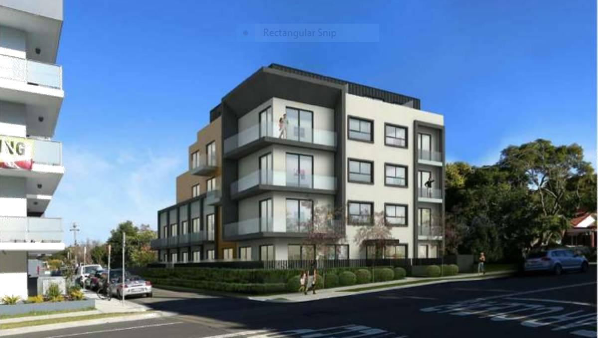 Boarding house plan for Kogarah