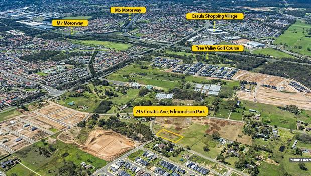 DA approved Edmondson Park residential development is on the market