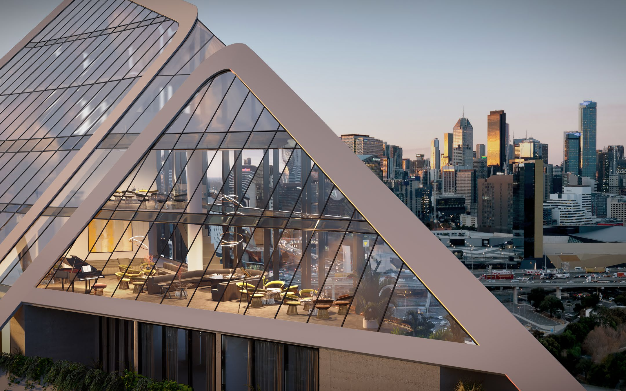 An infinity running track and whisky bar? Why first home buyers won't need to leave Melbourne's R.Iconic