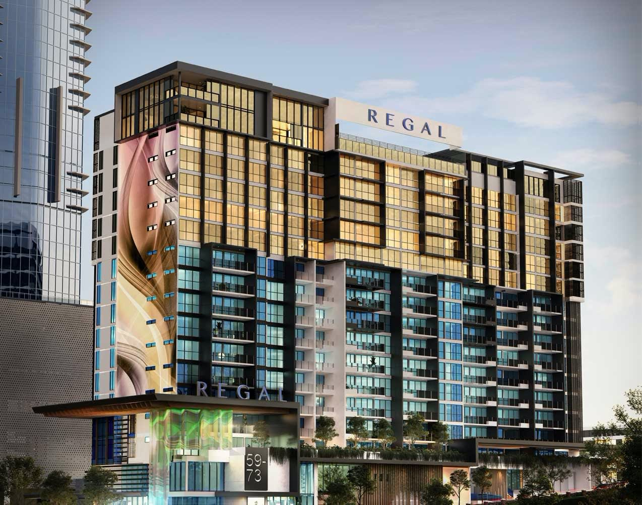 SEnjoy a distinguished lifestyle from $349,000* at Regal Residences, Southport.