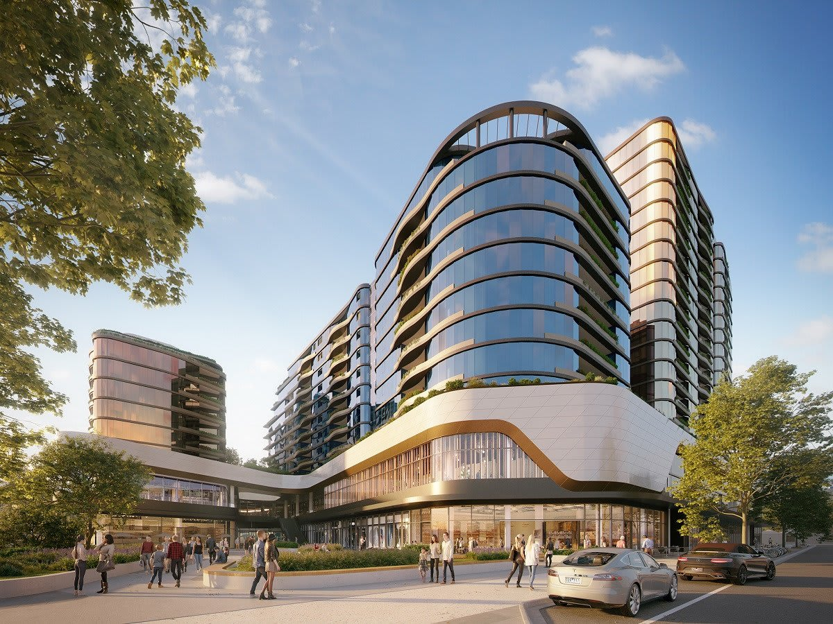 Sky Garden is a superb collection of premier skyrise residences positioned in the true heart of Glen Waverley.