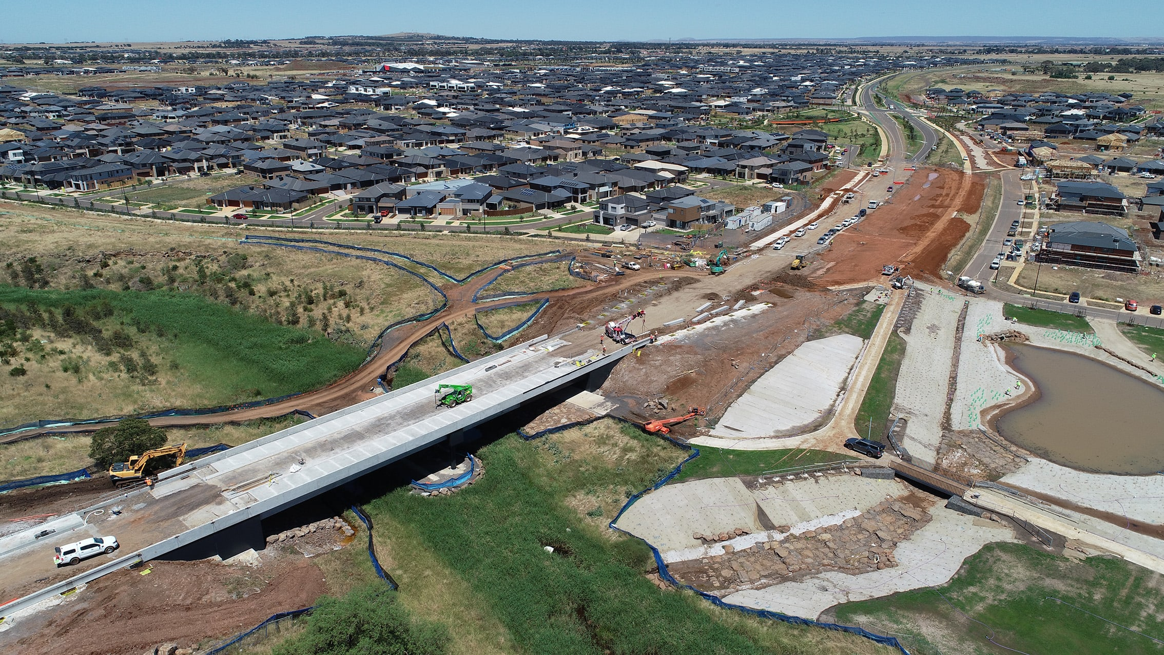 Woodlea fast track $50 million Taylors Road infrastructure project