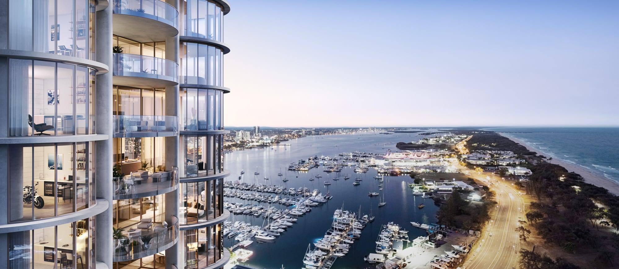 Inside the ultra-luxurious apartments at Ignite Proejcts' Main Beach project, The Monaco