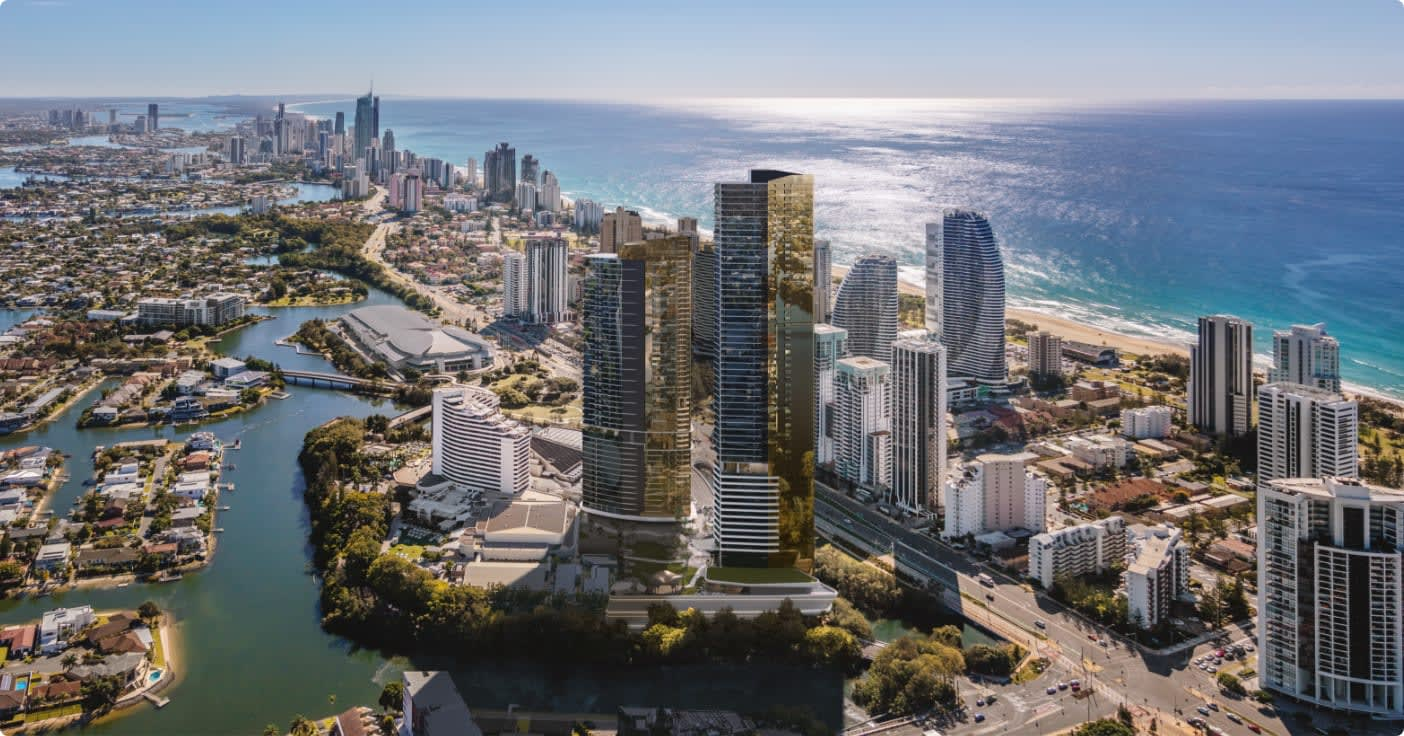 Your unique opportunity to live in the heart of The Star Gold Coast.