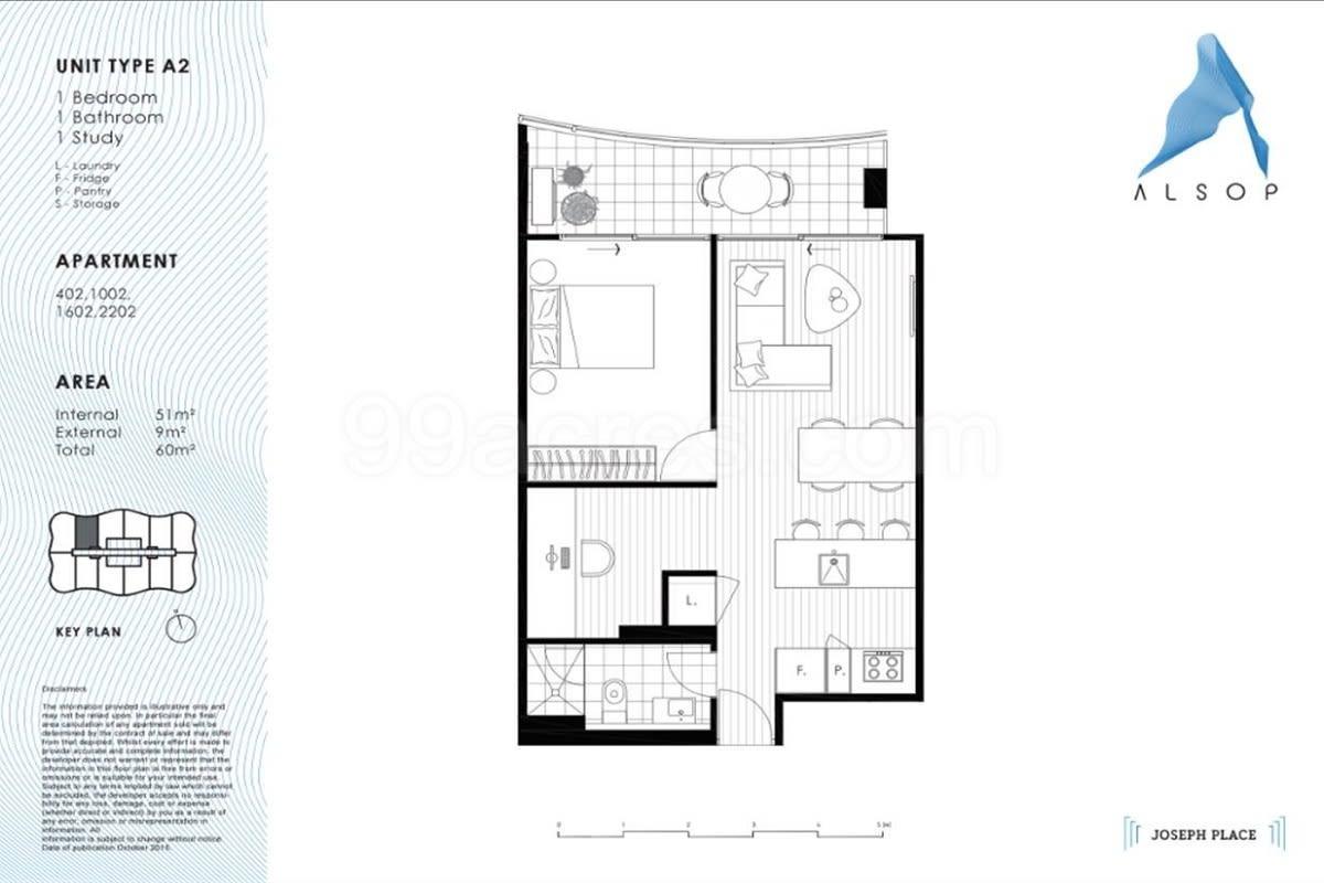 Victoria Square floor plans