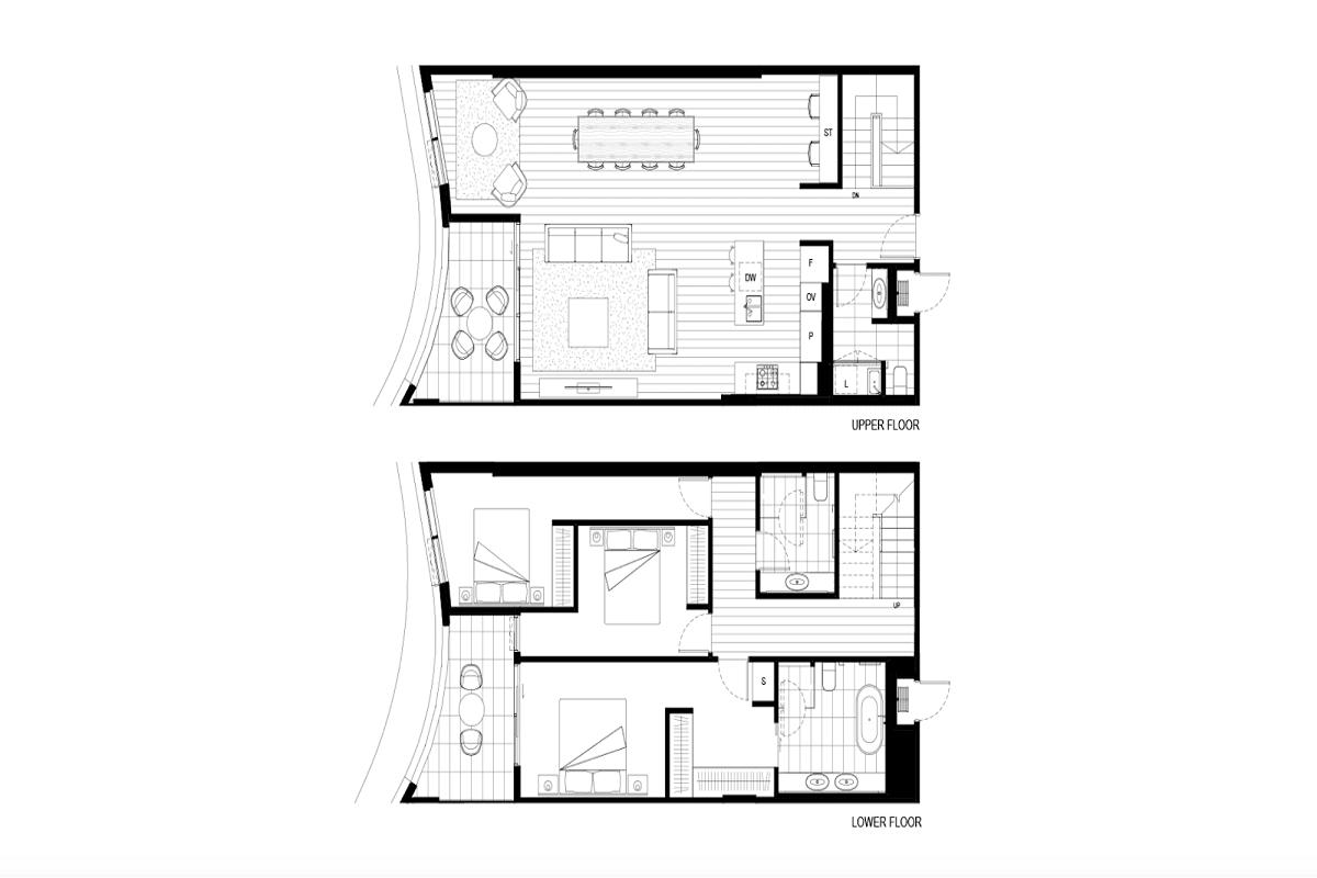 Victoriana, Melbourne floor plans