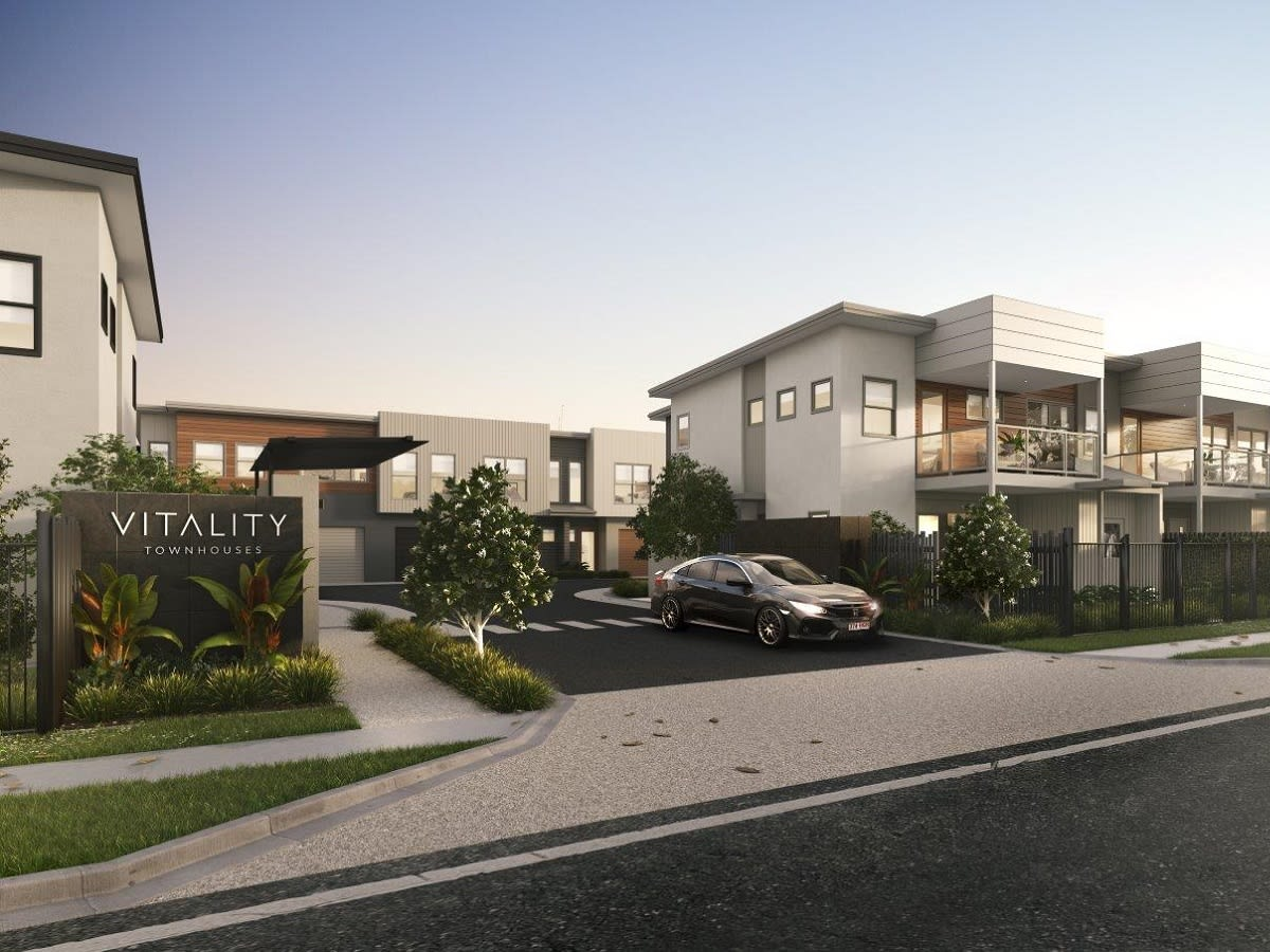 Spacious, four-bedroom townhouses in a prime location - Vitality Townhouses has it all.
