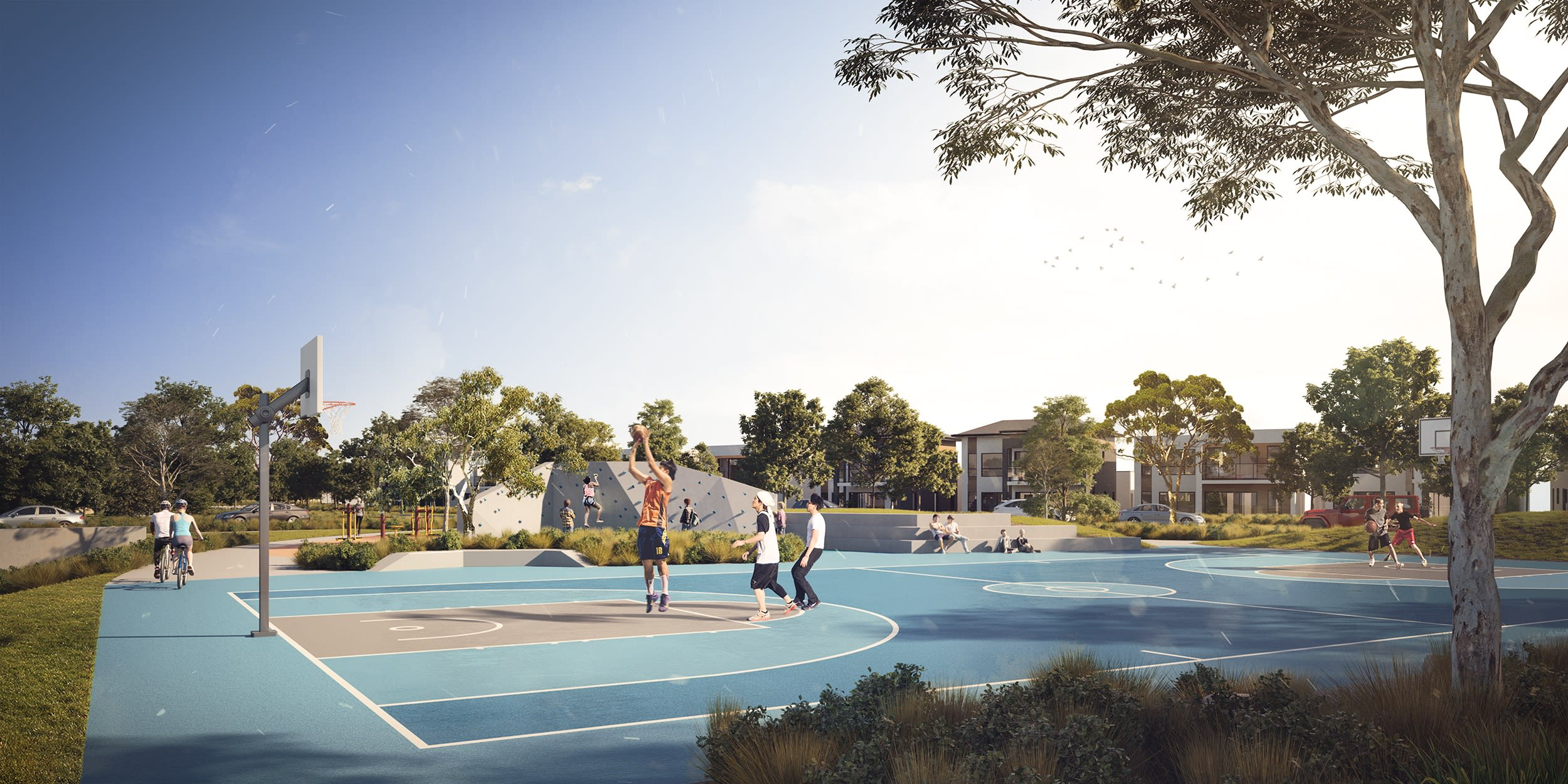 Mirvac has gone above and beyond to deliver world-class amenities for Waverley Park residents – here's the full list