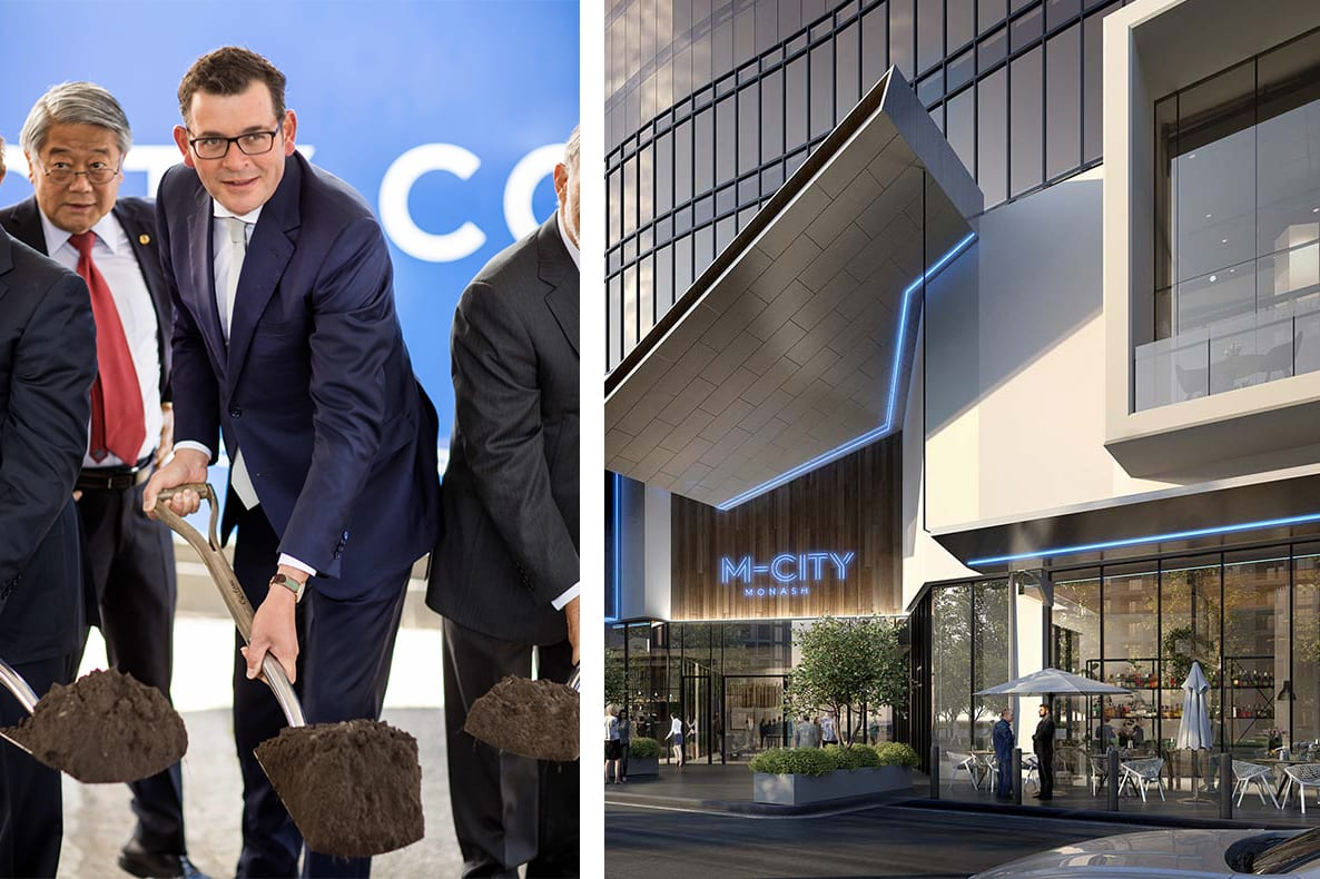 Construction officially begins at M-City