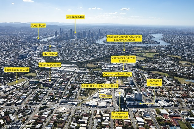 Bolton Clarke purchased a Coorparoo development site for over $10 million