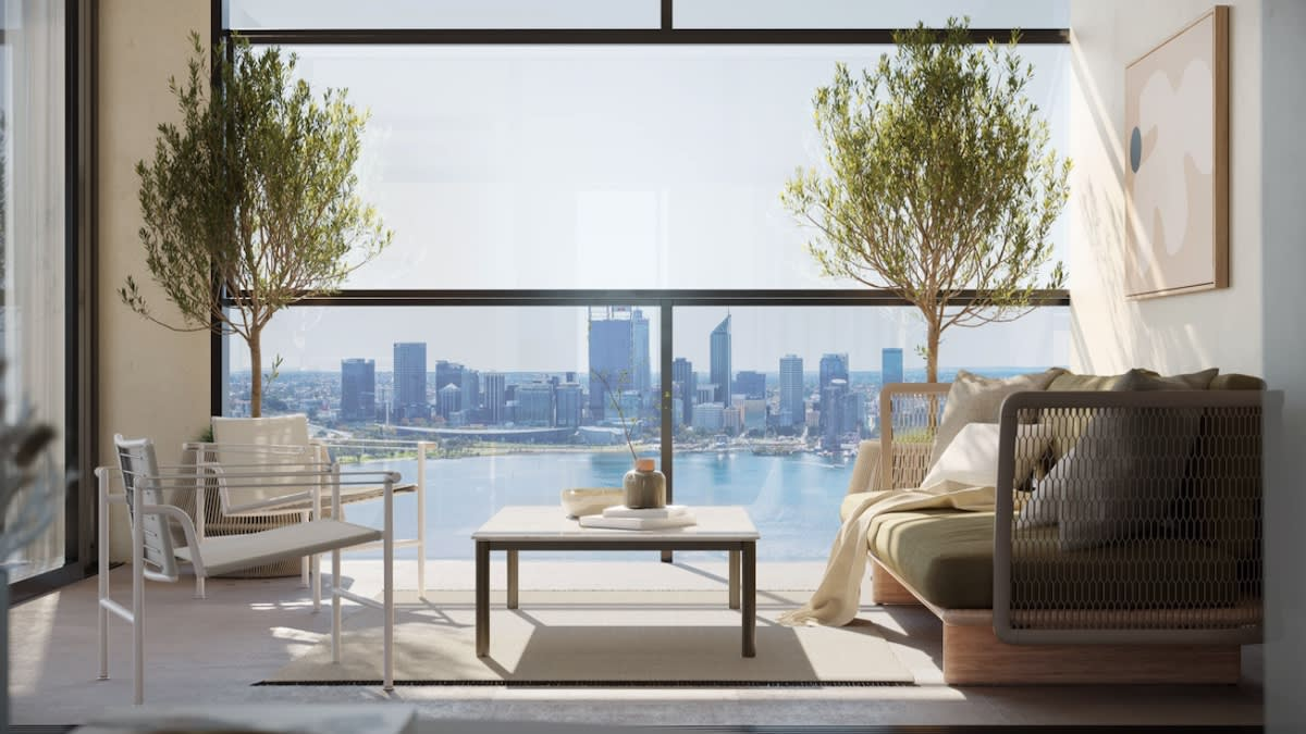 Why downsizers are looking sky high in Perth