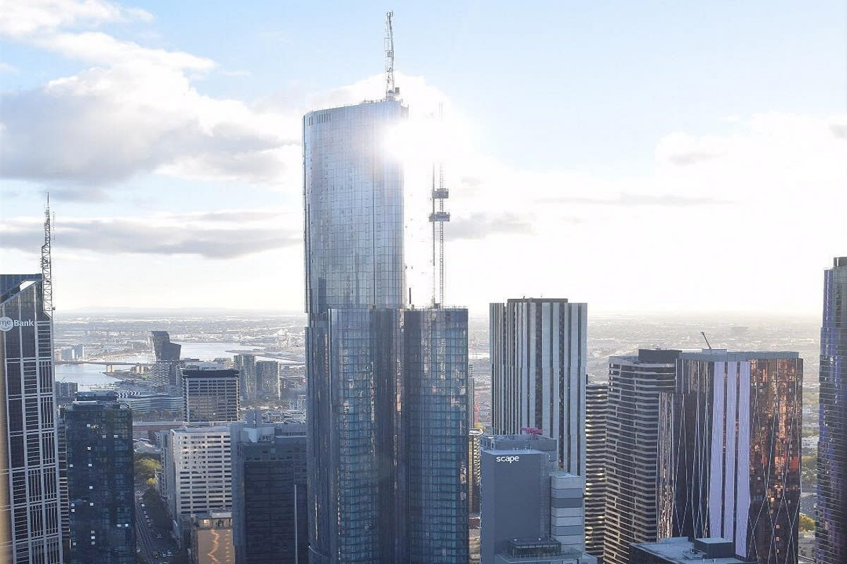 Aurora Melbourne Central construction update
