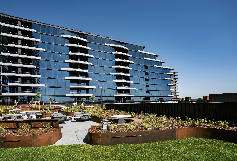 Australia's largest air-rights development, Sky Garden in Glen Waverley completed