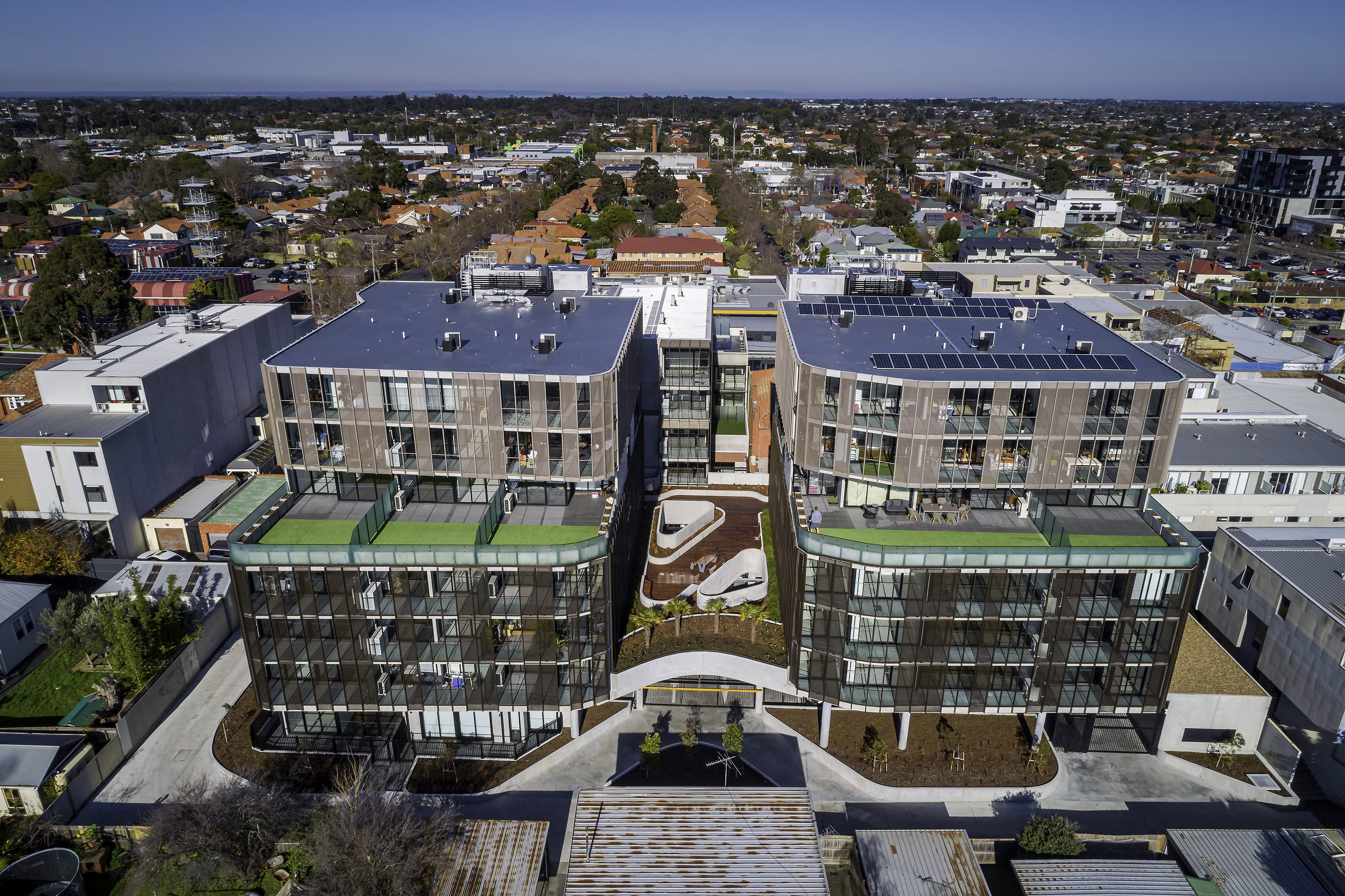 Construction complete at Oakleigh's new Pellicano development, Alke