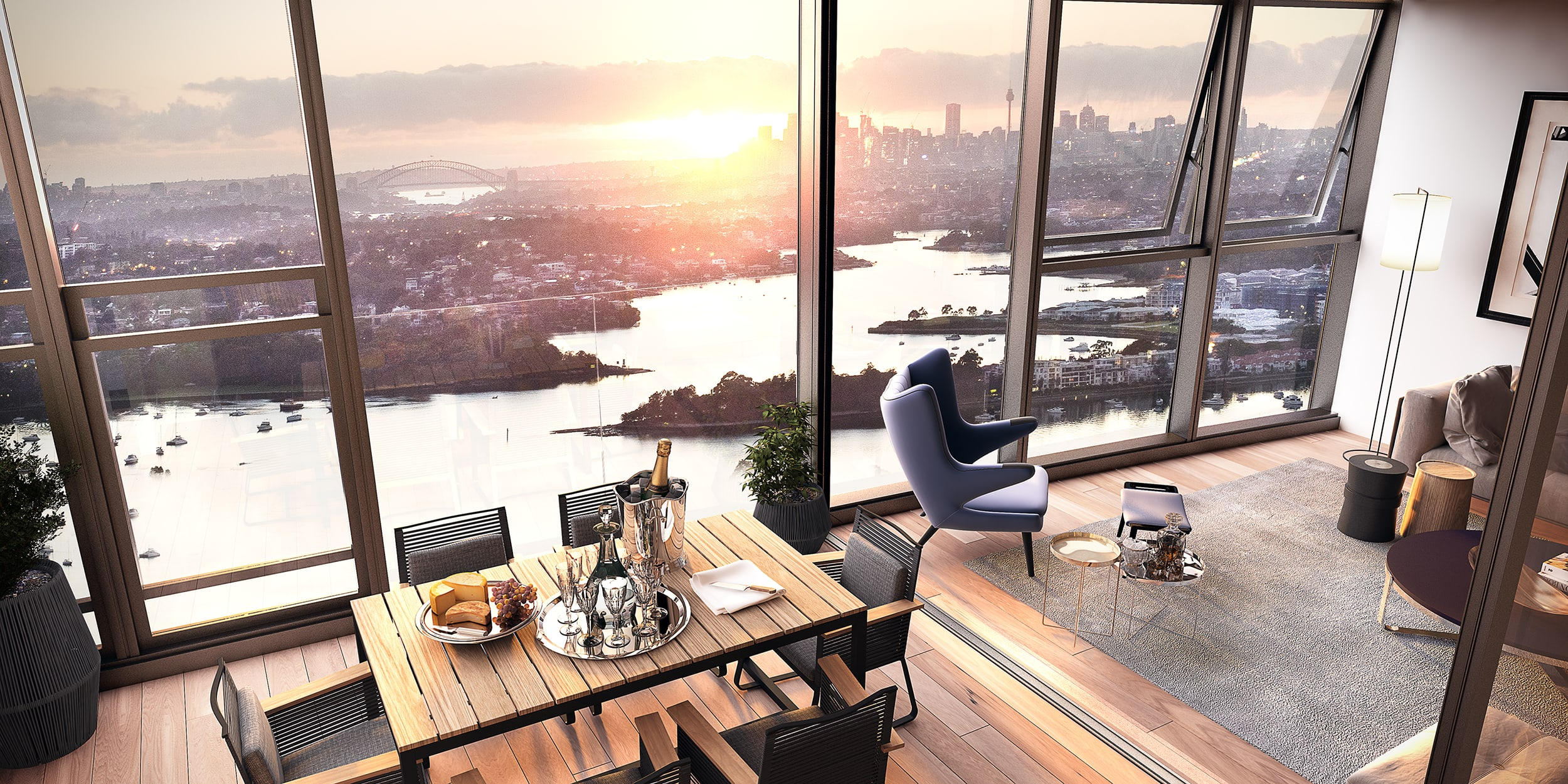 Sydney's apartment of the week: Rhodes Central, Rhodes