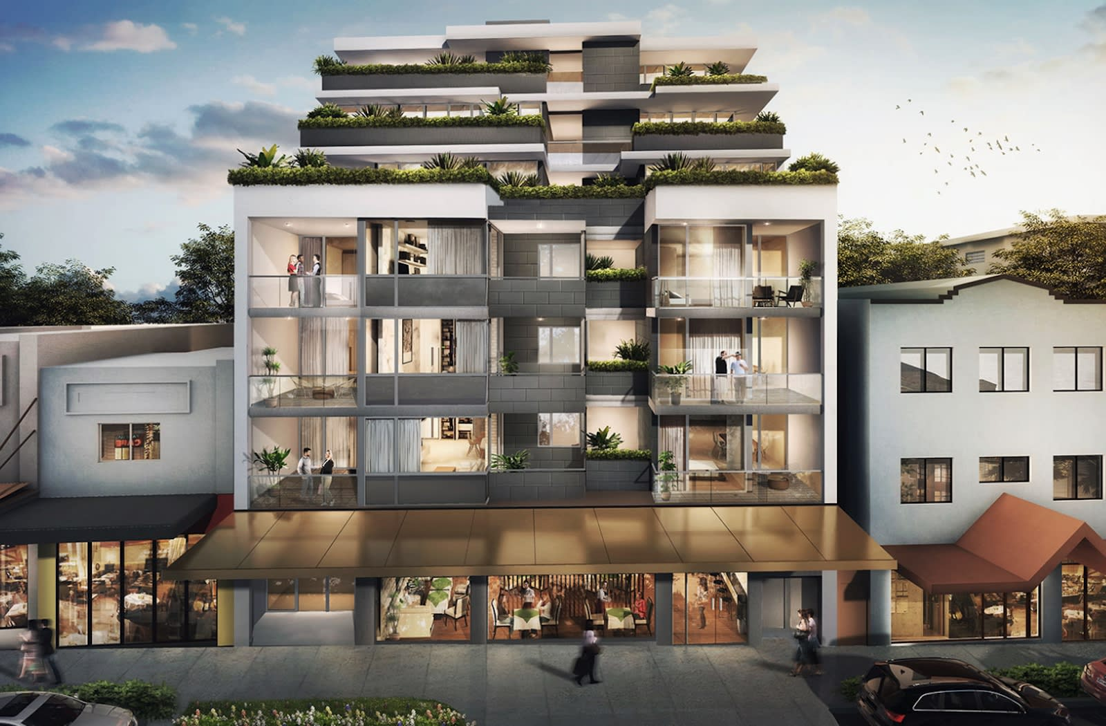 Young professionals look to Five Dock's premium off the plan apartment market as Sydney housing affordability issues rise