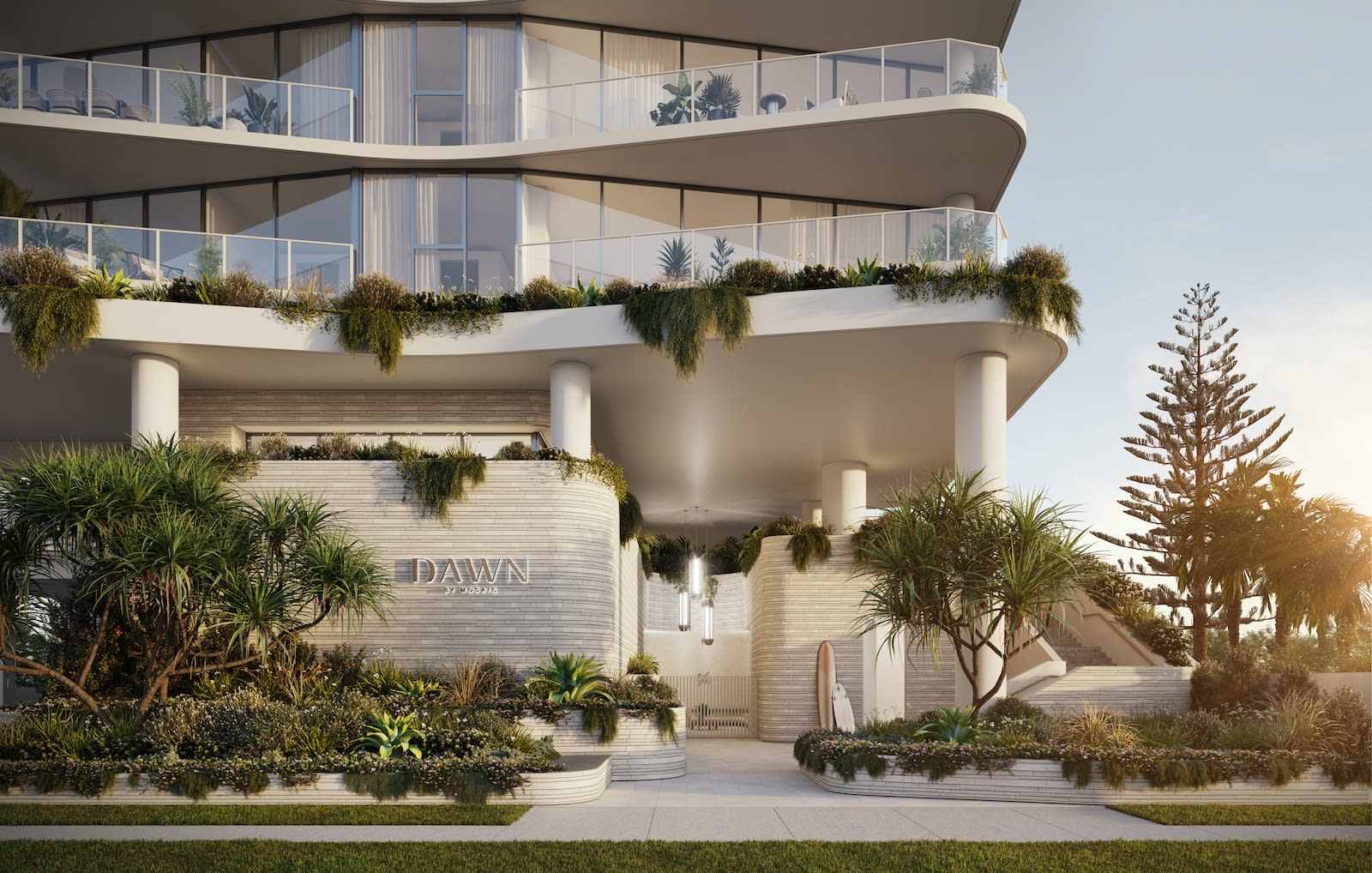 Mosaic Property Group achieve near sell-out of Mermaid Beach development Dawn in just two weeks