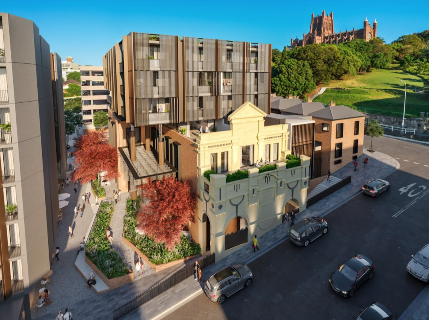 East End Newcastle approach first stage sell out with stage two construction soon to commence