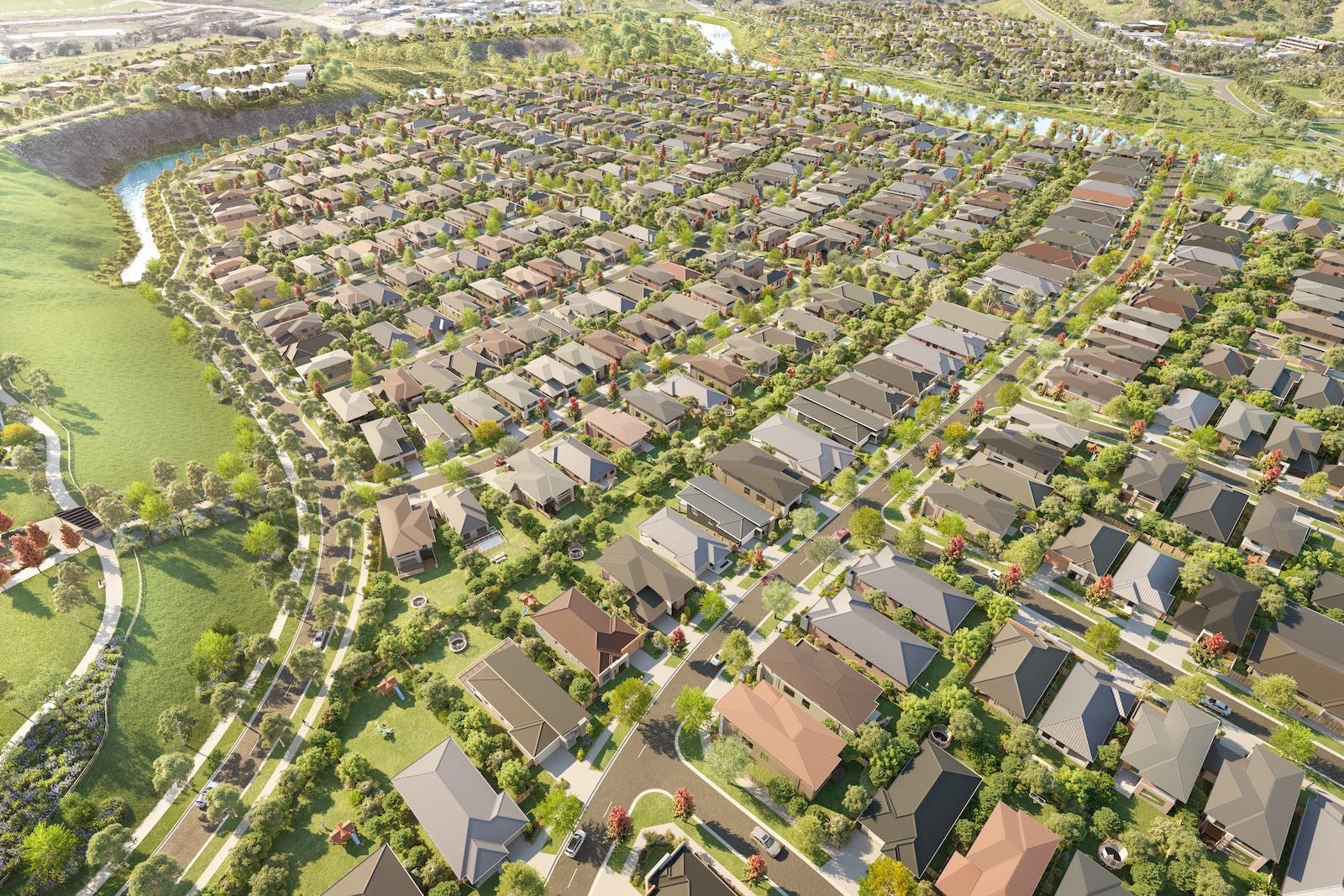First home buyer opportunity at Geelong housing estate Gen Fyansford