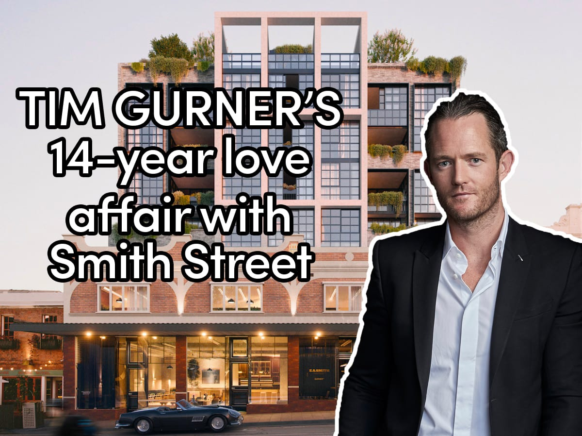 Why Tim Gurner chose Collingwood's Smith Street, the world's coolest street