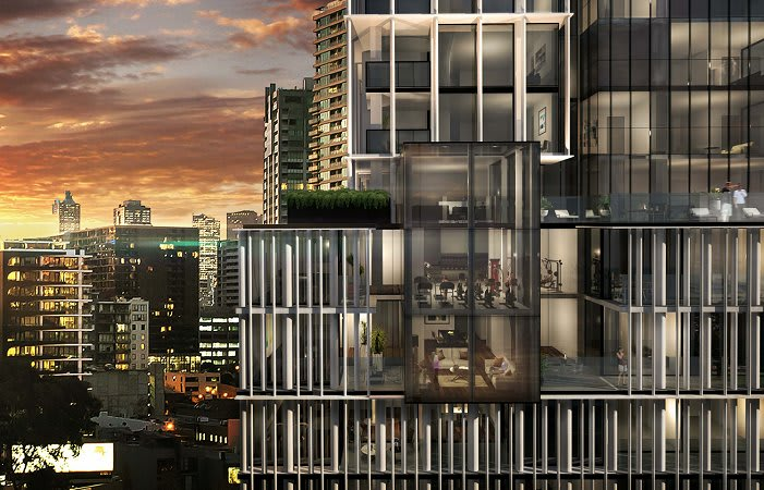 Take it to the Bank: South Melbourne's latest tower on show