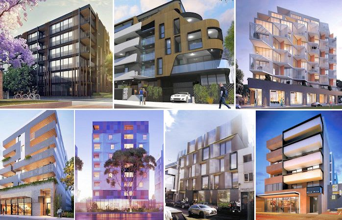 New apartment listings into the Urban.com.au Project Database reveals a trend