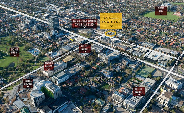 R & F Property Australia enters the Box Hill apartment market