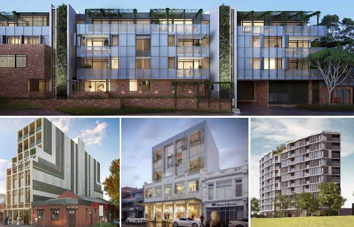A dozen mid-sized apartment projects inch closer to construction
