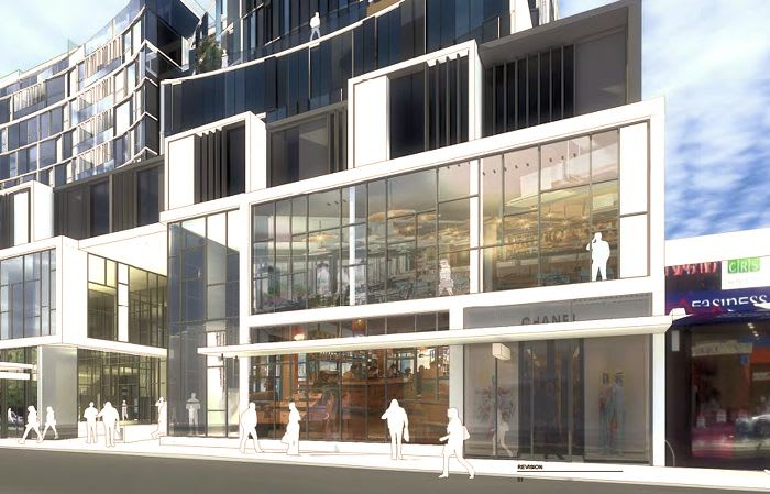 Big on Chapel: 402-416 Chapel Street planning application