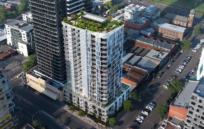 West Melbourne's latest tower on show