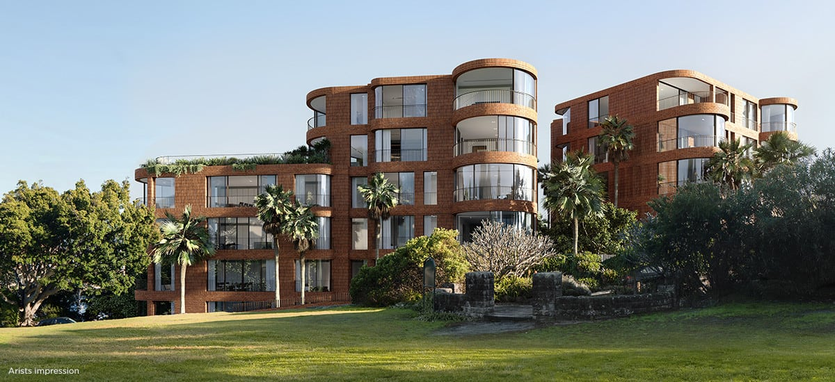 Kurraba Residences launch sells $90 million on Sydney's harbour