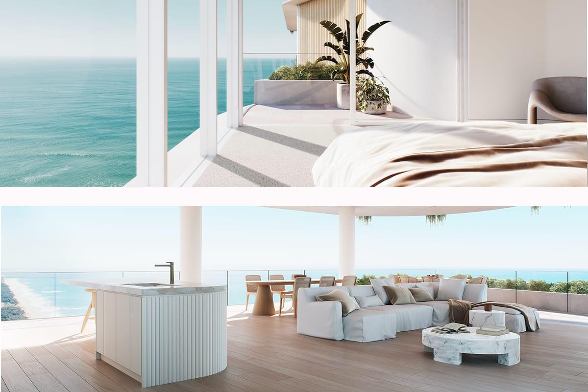La Mer, Main Beach apartment tower launch sales