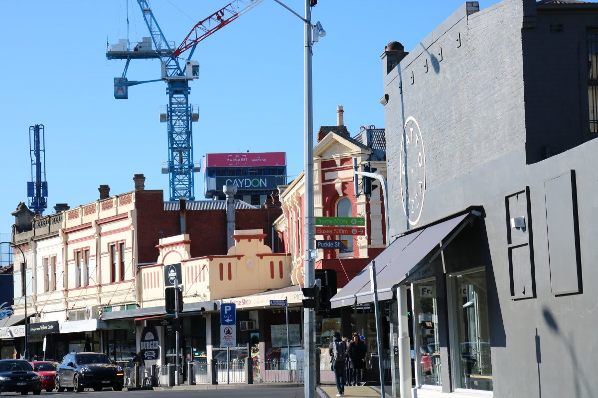 The state of construction in Melbourne - mid September 2017