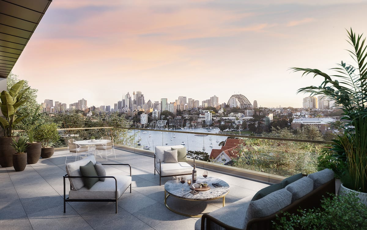 Expats pour in to luxury off the plan Sydney apartment market as Merrinda at Kurraba Point nears sell-out