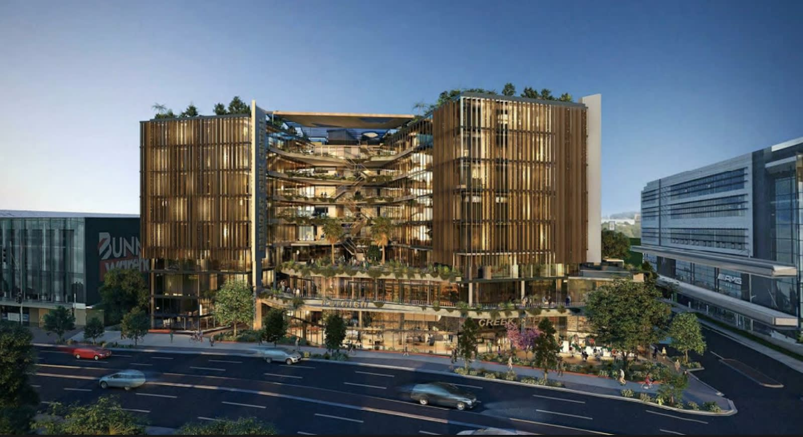 Newstead set for new commercial centre